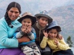 Imagen del proyecto en Huancavelica en Perú
