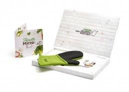 diseño de trade kit para Florette. verduras micro