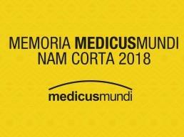 Maquetación de la memoria Medicus Mundi