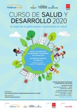 CARTEL A3 CURSO SALUD Y DESARROLLO 2020 v2 001 724x1024 1