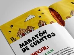folleto maraton de cuentos