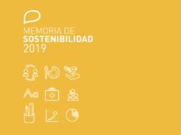 Portada memora sostenibilidad 2019